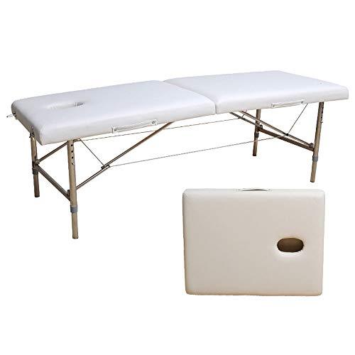 Lettino Massaggio Professionale Pieghevole.Naipo Lettino Massaggio Spa Tre Parti Ripiegabili E Gambe In