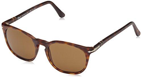 Persol Herren 0Po3007S 900157 50 Sonnenbrille, Braun (Havana/Brown),