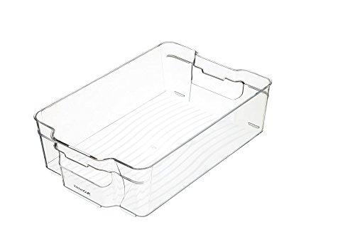 Kitchencraft Mediano Fridge-Safe plástico Cocina Caja de almacenaje, 31,5x 21x 9cm (12,5