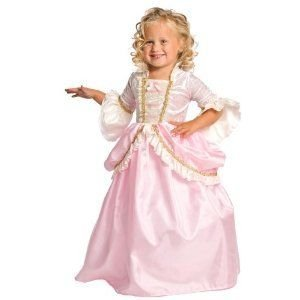 Little Adventures Traditionelle Rosa Pariser Mädchen Prinzessin Kostüm - Klein (1-3 (Pariser Kostüm)