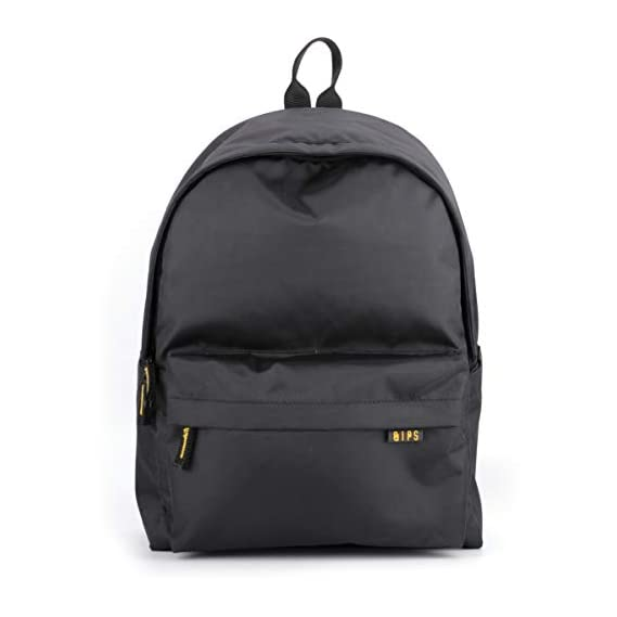 QIPS by HMI 21 ltrs 16 Inch Classic Laptop Backpack with YKK Zippers, Black