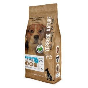 Comprar YERBERO Nature Salmon & Rice sin Gluten Hipoalergenico para Perros 12kg - Pienso Comida para Perro - Tiendas Online Envíos Baratos o Gratis >>>