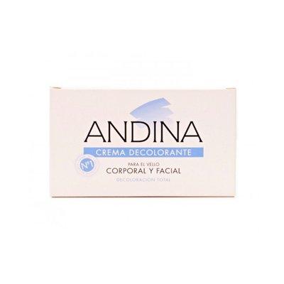 ANDINA Crema Decolorante Facial y Corporal 100 ml