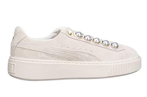 Puma Suede Platform Bling W  Whisper White - Whisper White  36