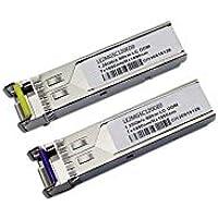 LODFIBER JD098A//JD099B HPE Compatible 1.25G 1310//1490nm BiDi 10km Transceiver