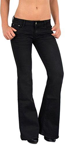 by-tex Jean femme coupe bootcut Jean gardé de Salsa pantalon en jean femme CC Typ-J06