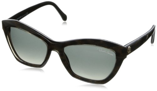 fa30fb3ac0 Roberto Cavalli RC796S, Gafas de Sol para Mujer, Gris (Black Champagne with  Leopard