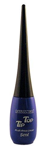 Eulenspiegel 673560 - Professional Liquid Aqua Schminke Tip Top - Flasche mit integriertem Pinsel - 5 ml - ()