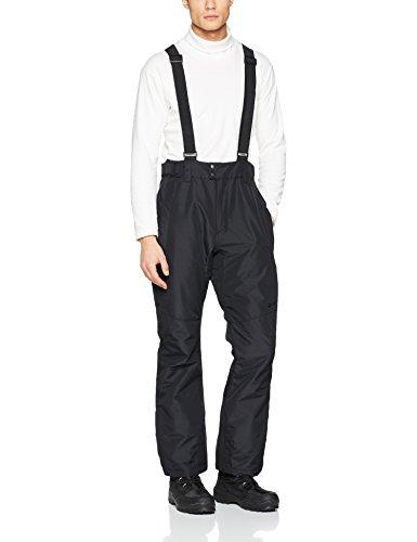 Protest Oweny Pantalón de esquí, Hombre, Negro, S