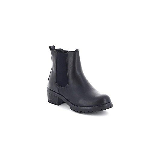 Chelsea boots simili-cuir Noir
