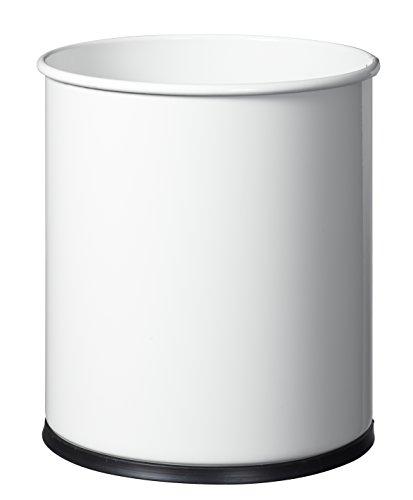 Rossignol 59580 Papea Corbeille à Papier Métal Blanc 27 x 27 x 30 cm 15 L