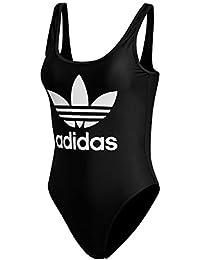 Adidas Bañador para Mujer, Mujer, DN8142, Negro, 38