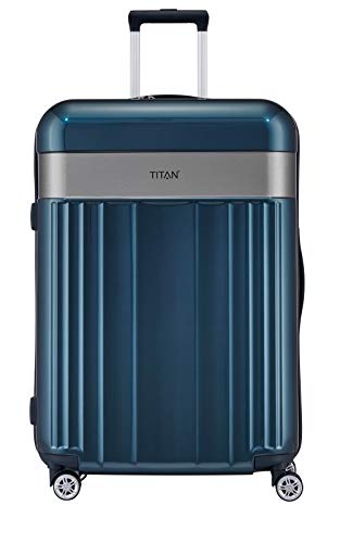 TITAN Gepäckserie 'Spotlight Flash': koffer , 76 cm, 102 Liter, north sea