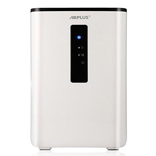 AIRPLUS Déshumidificateur Electrique d'Air Compact 2.5L pour l'Humidité et les Moisissures à la Maison, pour Cuisine, Chambre, Caravane, Bureau, Garage