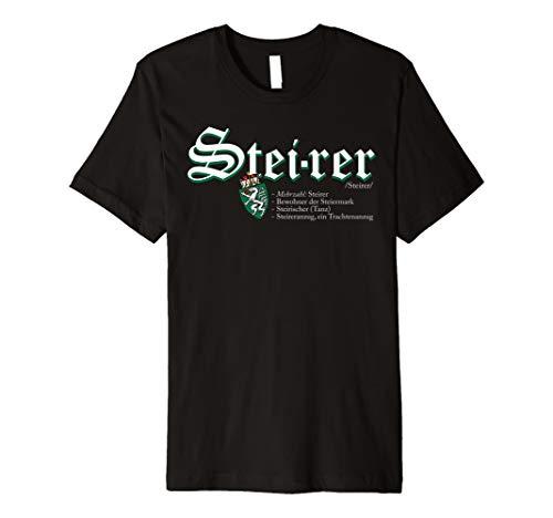 Steiermark Steirer Erklärung Österreich T-Shirt