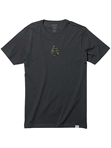 Nixon T-shirts - Nixon Wings Ii T-Shirt - Dark Heather Gray Black/Camo