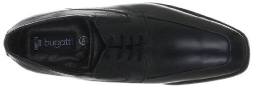 Bugatti T55081, Scarpe stringate basse classiche uomo Nero (Black - Schwarz (schwarz 100))