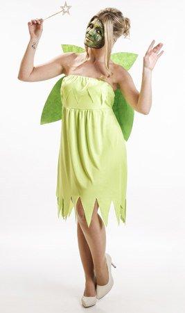 Imagen de disfraz de ninfa verde mujer u