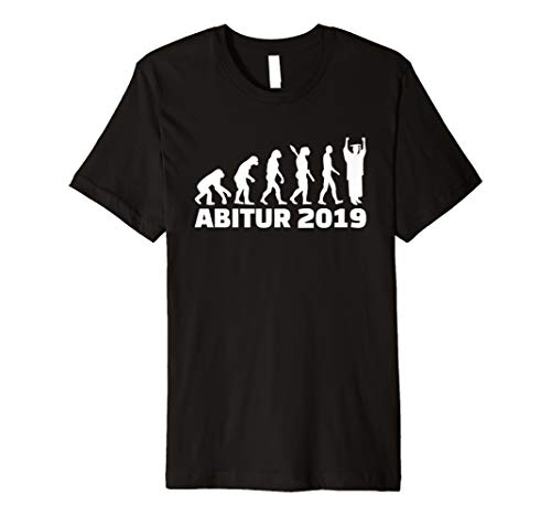 Abitur 2019 Evolution T-Shirt