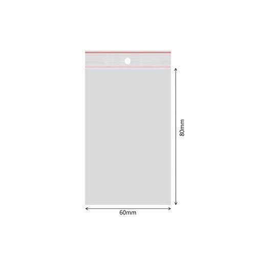 verpacking 100 Druckverschlussbeutel Polybeutel Zip-Beutel verschiedene Größen 60 x 80mm