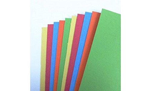 Seawhite Kartonpapier, A3,recycelt, farblich sortiert, 10Blatt–300g/m²