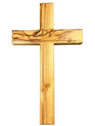 Motivationsgeschenke Holzkreuz aus Olivenholz Jerusalem 16 cm Wandkreuz Kruzifix Kreuz