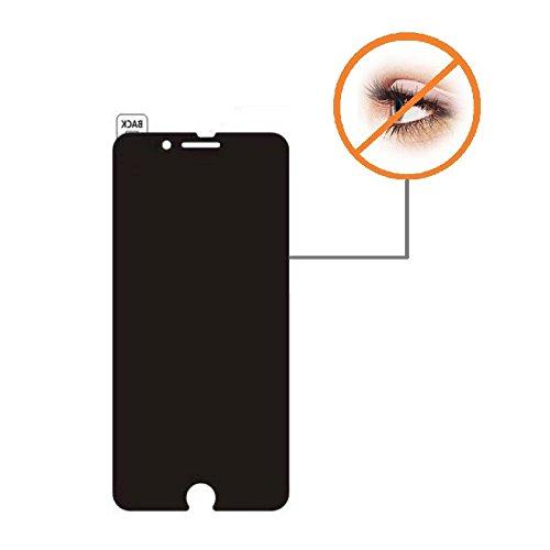 Cyxus Datenschutz Schutz [Peep Proof] 9H ausgeglichenes Glas-Schirm-Schutz für Apple iPhone 7 Plus/iPhone 8 Plus (5,5 Zoll) Filter-anti Glare Screen Protector