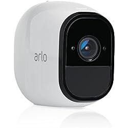 1 de Arlo VMC4030-100EUS Pro - Cámara HD adicional de seguridad y vídeo vigilancia sin cables (recargable, interior/exterior, visión nocturna, ...