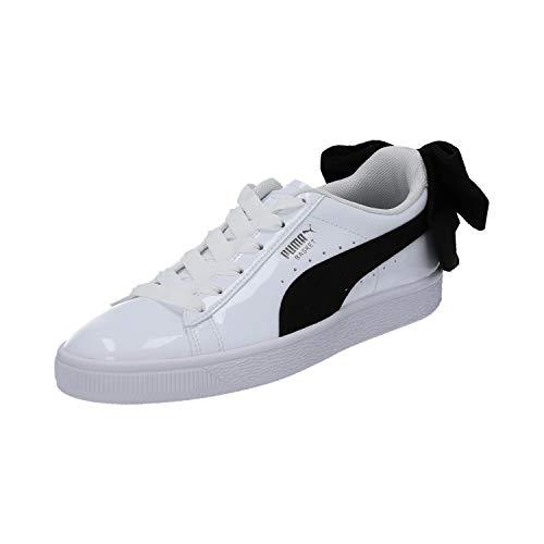 Puma, Donna, Basket Bow SB, Pelle, Sneakers, Bianco, 40 EU