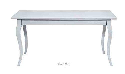 Tavolo rettangolare in legno stile vintage disponibile in diverse rifiniture L'ARTE DI NACCHI 4918/GR