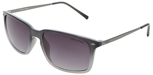 Park Avenue UV Protected Square Unisex Sunglasses - (430| 56| Black Lens)  available at amazon for Rs.3290