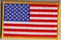 Bandiera patch ricamato Stati Uniti - 9