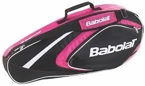 Babolat Schlägertaschen Racket Holder X3 Club Line, Pink, 74 x 14 x 33 cm, 22 Liter, 751080-156