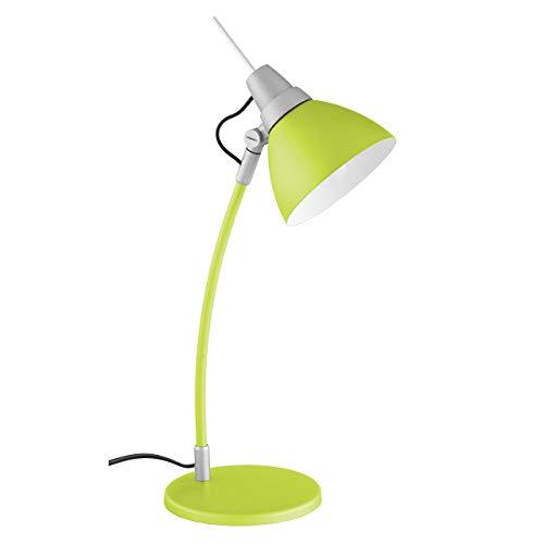 Lámpara de mesa de color verde Jenny