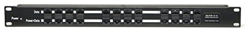 WS-POE-12-24v120w, 12 port PoE injector for 802.3af or passive 802.3at