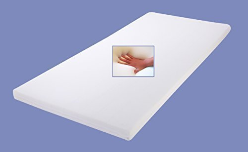 Gel / Gelschaum Matratzen Topper Relax Höhe 7 cm, 80 / 90 / 100 x 190 / 200 cm Auflage für Matratze, Matratzenauflage soft / weich inkl. Baumwollbezug Gelauflage günstig thumbnail