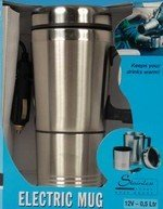 mug bouilloire café tasse chauffante 12v pour voiture branchement sur allume cigare