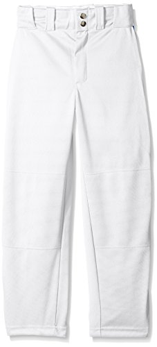 WILSON Baseballhose für Jugendliche, klassisch, mit Paspelierung, Jungen Mädchen, Weiß/Königsblau, X-Large