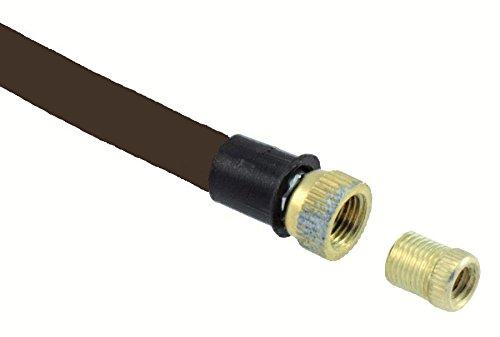 RMS Schlauch schwarz für Pumpen auf Keilrahmen (Ersatzteile Pumpen)/Flexible Hose Black For...