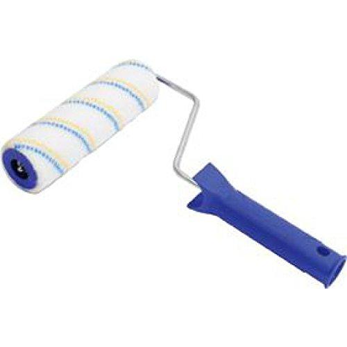 Preisvergleich Produktbild Lackierroller Nylon 18cm, gelb/blau 2K Griff