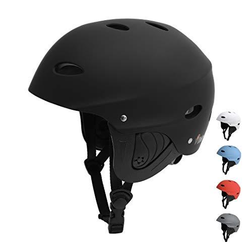 Vihir Casque BMX Casque Skate Casque de vélo Casque de Sport Nautique Casque de l'Eau de Réglable Sécurité Protecteu