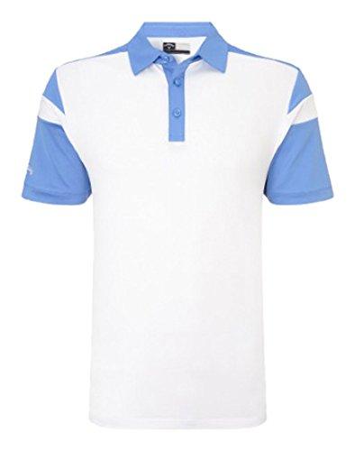 Callaway Chev Blocked Herren-Poloshirt Moonlight Blue