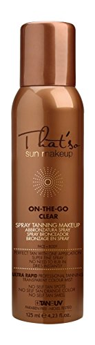 That'so sun makeup on the go clear 125ml spray autoabbronzante