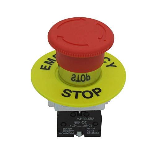 Este interruptor de parada de emergencia garantiza 5 años. Si hay problemas de calidad en 5 años, puede enviarnos un correo electrónico. Te enviaremos uno nuevo.