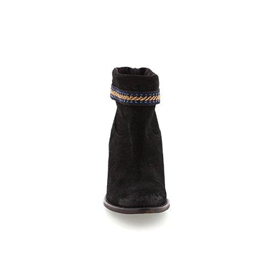 Mtng Nola, Bottes femme noir (SERRAJE NEGRO)