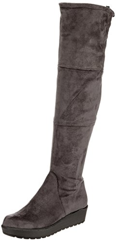Tamaris Damen 25617 Stiefel, Grau (Anthracite), 39 EU
