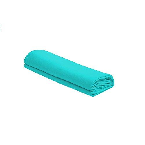 Telo asciugamano in microfibra renato balestra (turchese)