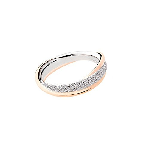 Fede Matrimoniale Polello Oro E Diamanti Kt.0.48