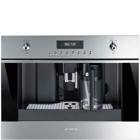 Smeg CMS6451X - Cafetera (Integrado, Máquina...