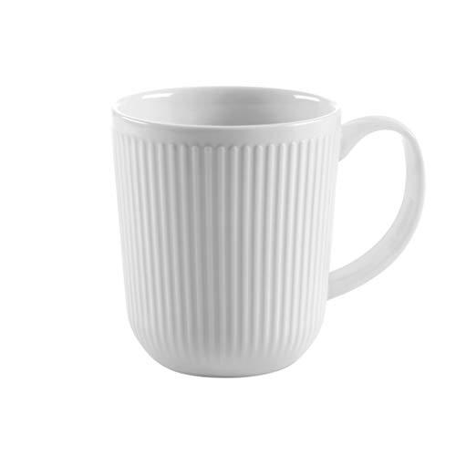 Bodum 11814-03 Douro 2 Stk. Kaffeetasse 0.35 l, Porzellan, weiß